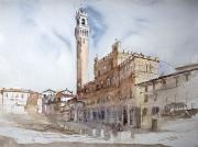 Piazza del Campo, 42x56cm