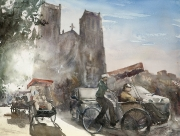 Rickshaws, 56x76cm