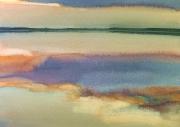 2005 jezioro - akwarela - 40x50