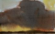 2012 chmury burzowe 15x20 akwarela