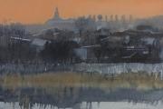 2012 Janów zimowy 25x40 akwarela