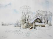 Zima w Strońsku