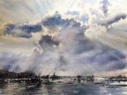 chmura 40x30 Karolina Majer
