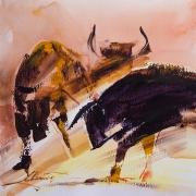 17_Beata.Musial-Tomaszewska_bull-herd_30x30cm